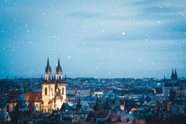 Winter In Prague